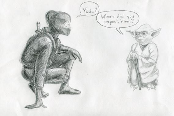 Yodaappears