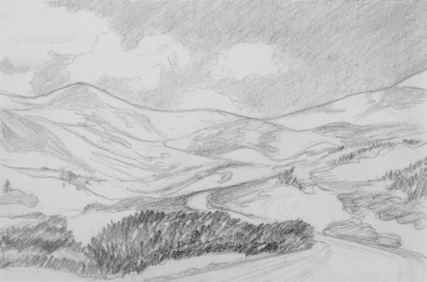 This is a ridge between Mt. Sheridan and Mt. Sherman.