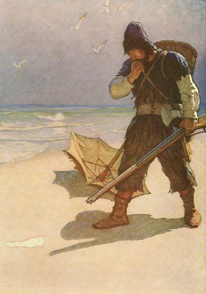 N. C. Wyeth illustration (Image source)