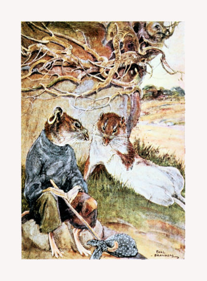 The sea-faring rat and Ratty from The Wind in the Willows (image source)